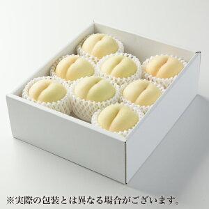 白桃 はくとう 岡山県産 風のいたずら ちょっと訳あり 5〜12玉 約2kg 送料無料 お中元 夏ギフト桃 もも モモ