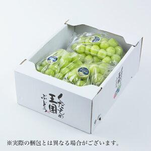 シャインマスカット 岡山県産 青秀 3〜5房 約2kg  送料無料 蒲萄 ぶどう ブドウ