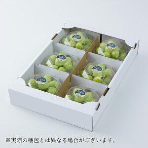ぶどう シャインマスカット 岡山県産 詰み落とし 秀品 約200g×6パック 葡萄 ぶどう ブドウ