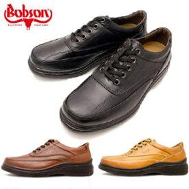 ボブソン BOBSON 靴 本革 メンズ 疲れない カジュアルシューズ ウォーキングシューズ 軽量 3E 5203 ブラック ダークブラウン キャメル 旅行 父の日 プレゼント ギフト