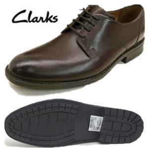 CLARKS クラークス TRUXTON PLAIN  トラクストン プレーン 26119706 ブラウン 茶 革靴