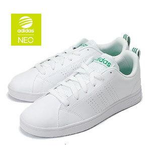アディダス スニーカー レディース adidas バルクリーン2 ホワイトグリーン VALCLEAN2 F99251 コートシューズ 靴