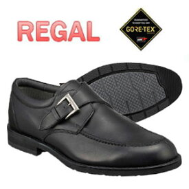リーガル REGAL メンズ 靴 ビジネスシューズ 革靴 紳士靴 本革 日本製 ブランド モンクストラップ ゴアテックス 防水 REGAL 34NRBB ブラック ダークブラウン 内羽根式 通勤 出張 就職祝 父の日 誕生日 ギフト プレゼント