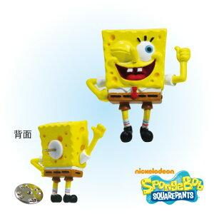 スポンジ・ボブ マスコットピンズ/スポンジ・ボブ(B) SpongeBob SquarePants