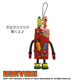 ウサビッチ カタカタ携帯ストラップ/メカネンコ Usavich
