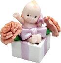 ローズオニールキューピー人形 フラワーキューピー5月の花「カーネーション」(母の日) Rose O'Neill Kewpie