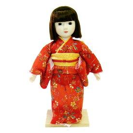 日本人形 夢さくら(赤)