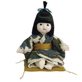 日本人形 京おさな・男の子「雛菱」