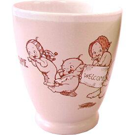 ローズオニールキューピー人形 キューピーテーブルウェア・湯呑カップ ピンク Rose O'Neill Kewpie