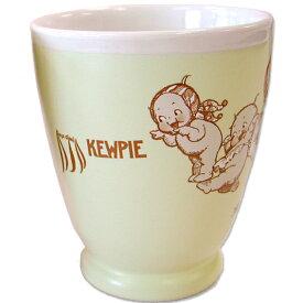 ローズオニールキューピー人形 キューピーテーブルウェア・湯呑カップ イエロー Rose O'Neill Kewpie