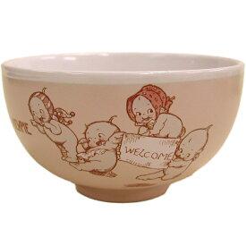 ローズオニールキューピー人形 キューピーテーブルウェア・茶碗 ピンク Rose O'Neill Kewpie