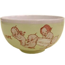 ローズオニールキューピー人形 キューピーテーブルウェア・茶碗 イエロー Rose O'Neill Kewpie
