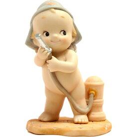 ローズオニールキューピー人形 ワーキングキューピー・ファイヤーマン 消防士 Rose O'Neill Kewpie