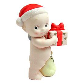 ローズオニールキューピー人形 マンスリーキューピー12月・ハッピークリスマス(サンタクロース) Rose O'Neill Kewpie