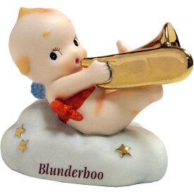 ローズオニールキューピー人形 ブラスバンドキューピー・ブランダーブー トロンボーン Rose O'Neill Kewpie