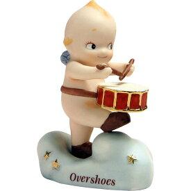 ローズオニールキューピー人形 ブラスバンドキューピー・オーバーシューズ 小太鼓 Rose O'Neill Kewpie