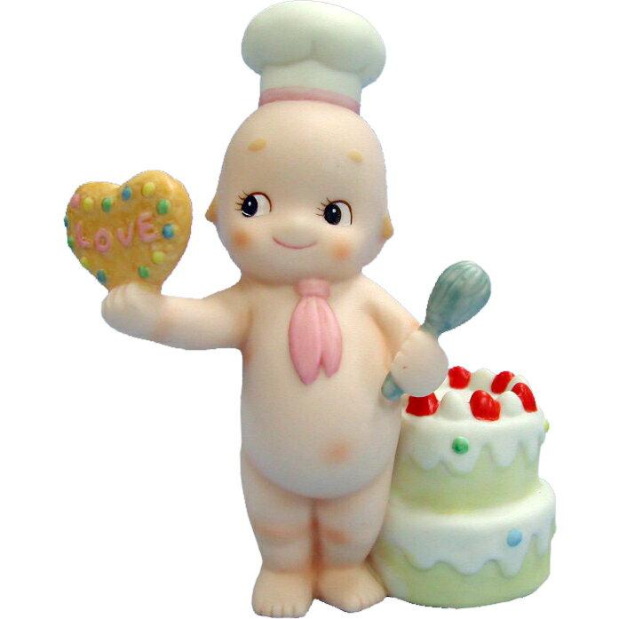"""ローズオニールキューピー人形 メッセージキューピー """"Delicious Love"""" パティシエ Rose O'Neill Kewpie"""