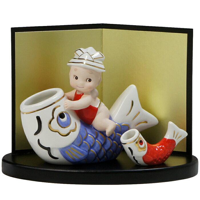 五月人形 ローズオニールキューピー五月人形 こいのぼり
