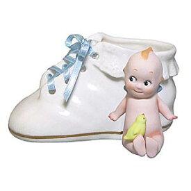 ローズオニールキューピー人形 キューピーベビー シューズ型小物入れ Rose O'Neill Kewpie