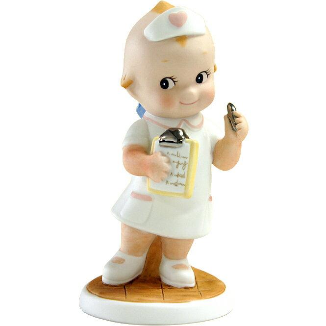 ローズオニールキューピー人形 キューピーフィギュア「ナース(C)ホワイト」 Rose O'Neill Kewpie