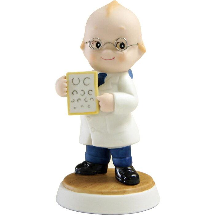 ローズオニールキューピー人形 キューピーフィギュア「眼科医」 Rose O'Neill Kewpie