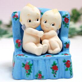 ローズオニールキューピー人形 ポエティック・ソファー Rose O'Neill Kewpie