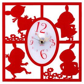 ムーミン シルエット時計・リトルミイ(たくさん) Moomin
