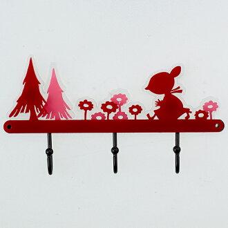 [Moomin] silhouette key hanger / Little My