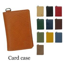 IL BISONTE イルビゾンテ カードケース 定期入れ C1153 レディース メンズ 父の日 プレゼント レザー