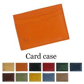 IL BISONTE イルビゾンテ カードケース 定期入れ C0567 レディース メンズ プレゼント レザー