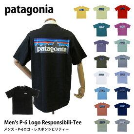 パタゴニア Tシャツ patagonia メンズ・P-6ロゴ・レスポンシビリティー 38504 M's P-6 Logo Responsibili-Tee S M L XL カジュアル 半袖