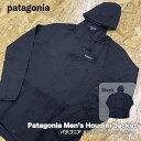 パタゴニア メンズ・フーディニ・ジャケット 24142 ブラック patagonia Men's Houdini Jacket パーカー XS S M L XL