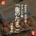 国産ブランド鶏卵 「龍のたまご」 60個 大分県産 (10個入り×6パック )【送料無料 赤玉 赤卵 濃厚 こだわり おいし…