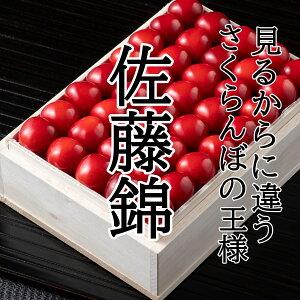 【送料無料】佐藤錦 化粧箱 L〜2Lサイズ 秀品 贈答用 父の日 お祝い プレゼント 贅沢 高級品