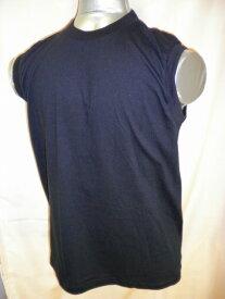 【送料無料】大きいサイズ 3L・4L・5L   カラー3色 白・黒・グレーメンズ ノースリーブ 丸首Tシャツ 綿100%(グレーは、綿80% ポリエステル20%)紳士ノースリーブ サーフシャツ 13-627