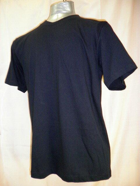 【送料無料】【消費税込】紳士メンズ 半袖 丸首 黒Tシャツ 綿100% M・L・LL【消費税込】