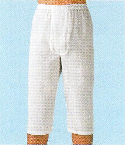 【送料無料】グンゼ 夏肌着紳士 クレープ ロングパンツ綿100% ちぢみのステテコですLL 白