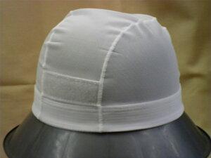 【送料無料】日本製 メッシュ 水泳帽 白・オレンジ 頭囲 58〜63cm(LLサイズ) 水泳の授業で使いますスクール水着の水泳帽です。公共のプールでも、スイムキャップが無いと入場できない