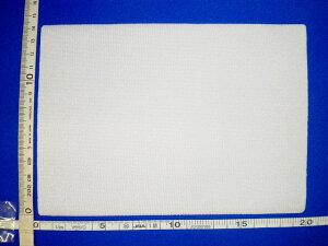 【送料無料】水着用 ゼッケン 大 伸び縮みする ストレッチ20×14cmノリ付き (アイロンで貼り付けるタイプ)ニット生地