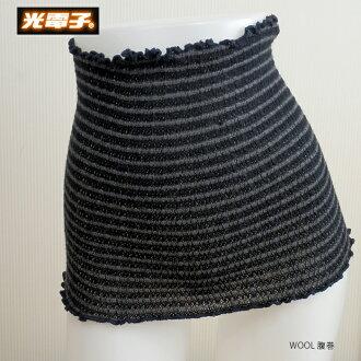 光電子羊毛冷多帶腹卷純粹拉伸西溫暖光電子腹卷冷預防光電子羊毛卷服