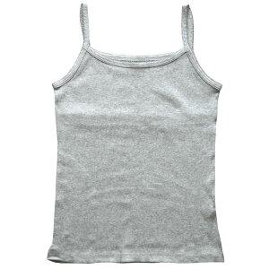 婦人リブキャミソール綿100%(リブ編み)(レディス下着・綿100%下着)