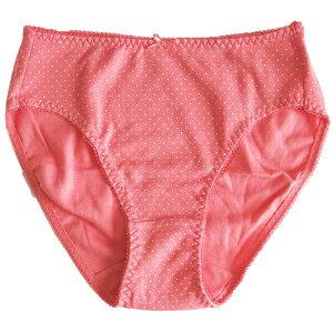 スタイル&カラーのバリエーションが豊富です。婦人スタンダードショーツ水玉柄(スムス)(レディスショーツ・女性ショーツ・レディス下着・女性下着・婦人下着)
