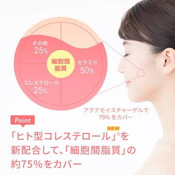 肌◯アクアモイスチャーゲル解決策02シロキクラゲエキスの潤いベールで水分保持