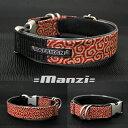 ワンタッチバックル 卍 Manzi (プラスティック) 卍 Manzi 20mm幅 犬の体重=8kgまで