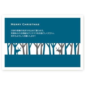 【私製はがき 10枚】クリスマスカード XS-02 カード クリスマス ハガキ 印刷 Xmasカード 葉書