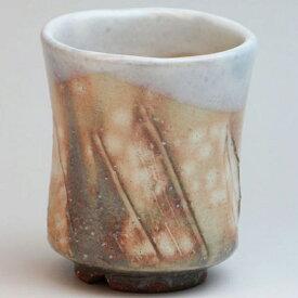 萩焼 紅葉湯呑 木箱入 Japanese ceramic Hagi-ware. Hagi momiji yunomi teacup with Wooden box.