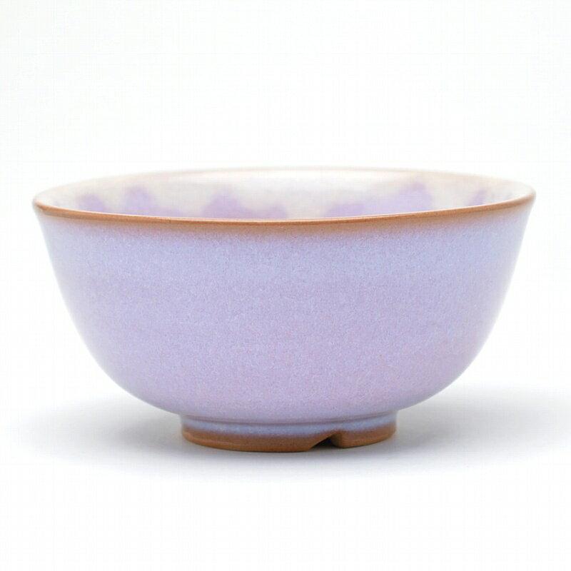 萩焼 萩むらさき飯茶碗(白箱) Hagi yaki Murasaki bowl made in Japan. Japanese pottery. Free shipping.