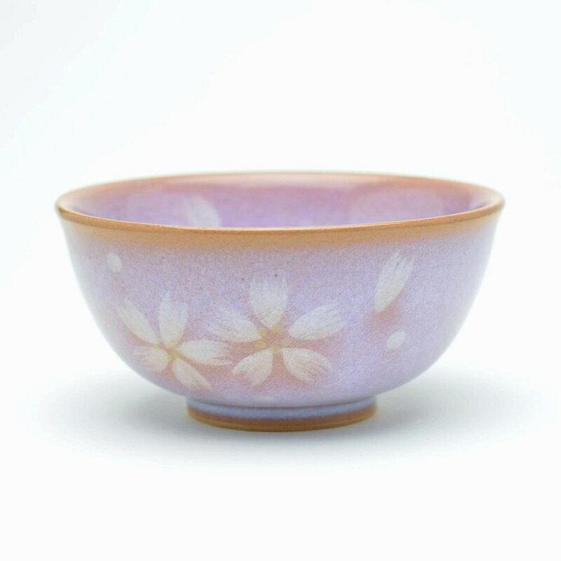 萩焼 花だより飯茶碗(折箱) Hagi yaki Hanadayori bowl made in Japan. Japanese pottery. Free shipping.