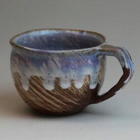 萩焼 マグカップ海 化粧箱入 Japanese ceramic Hagi-ware. Umi Mug cup.