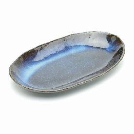萩焼 青萩パスタ皿清玩作(化粧箱) Hagiyaki plate made in Japan. Japanese pottery.